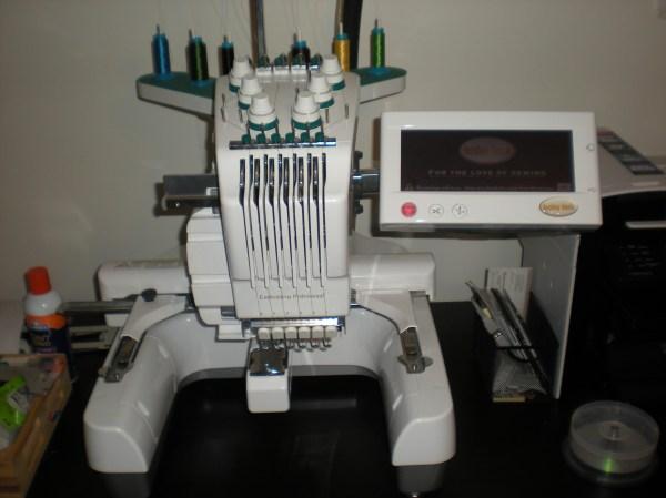 Babylock Emp6 Embroidery Machine 3 800