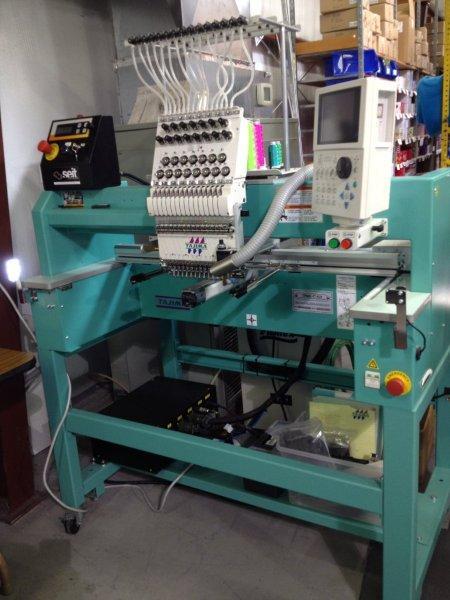 Tajima Single Head Laser Embroidery Machine