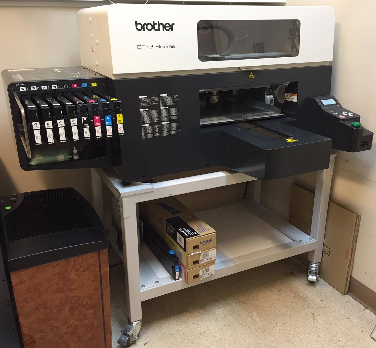 Brother Gt 3 Series Dtg Printer