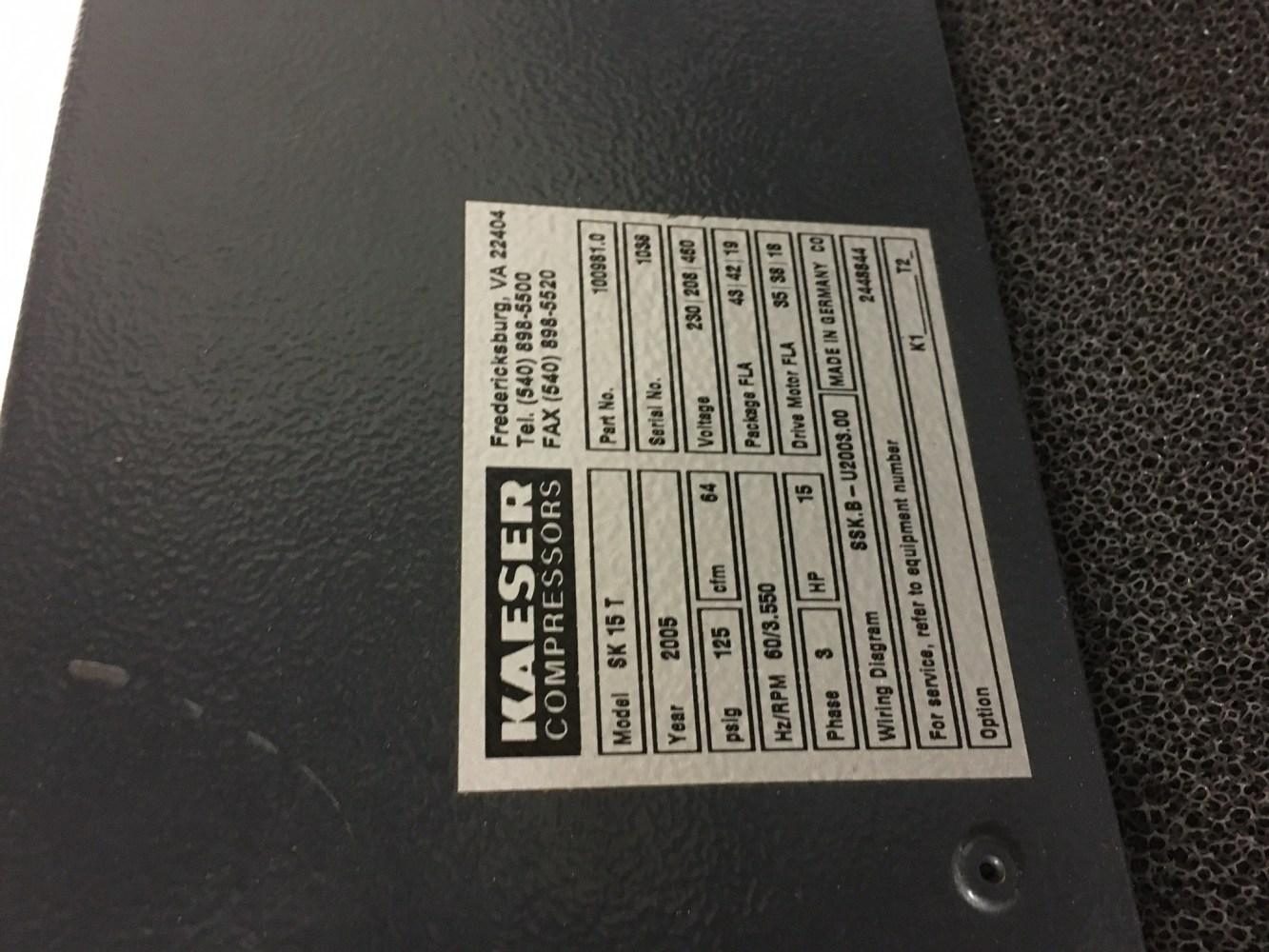 medium resolution of kaeser wiring diagrams wiring library 2005 kaeser 15 hp screw compressor kaeser 15 hp