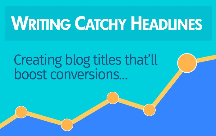 Writing catchy headline is important for content marketing