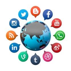 Sotsiaalmeedia. Allikas: Pixabay