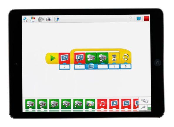 Lego WeDo 2.0 app programmeren