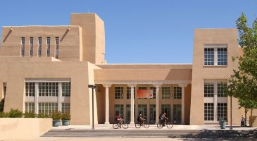 Historic Zimmerman Library at UNM