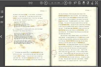 Digital Manuscript Viewer from Tony Hillerman Portal