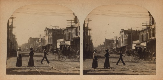 Dallas, Texas, ca. 1902-1919, stereograph