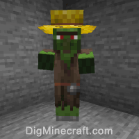 How To Summon A Zombie Villager In Minecraft