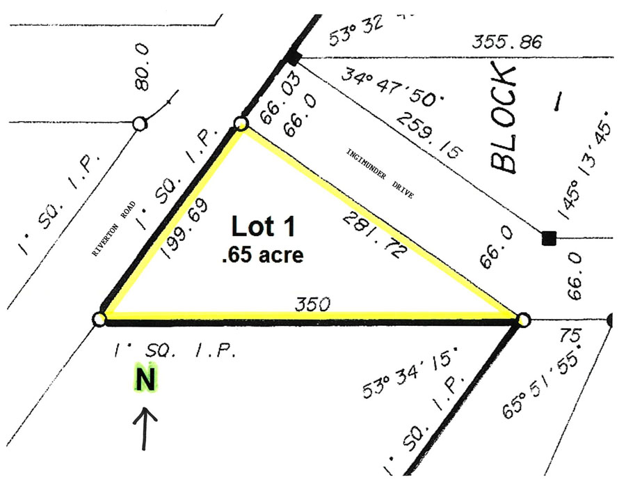 Property within the Municipality of Bifrost Manitoba .65 acres