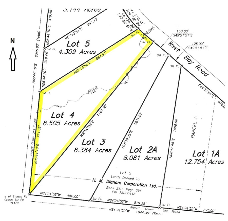 Property For Sale Cape Breton Island Nova Scotia 8.5 acres