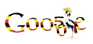 Uganda independence doodle 2012