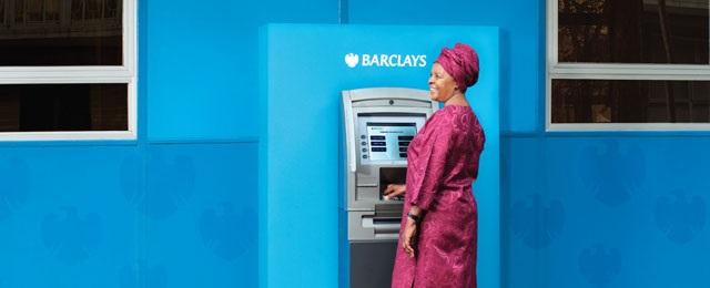 Barclays Bank ATM transfer