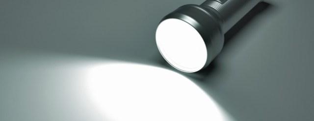 Dignited flashlight