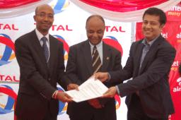 Airtel Total partnership