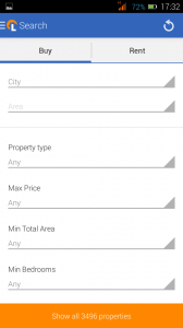 First impressions with Lamudi's house-hunting Android App