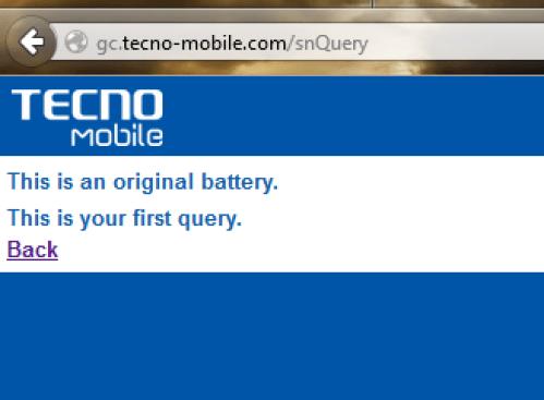 Tecno_Battery_Verification