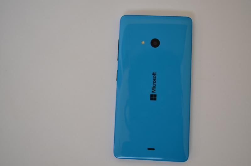 Lumia 540 back