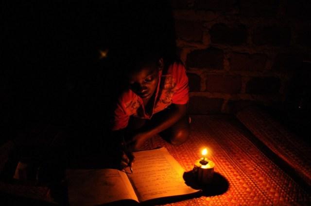 Homework_with _Kerosene Candle
