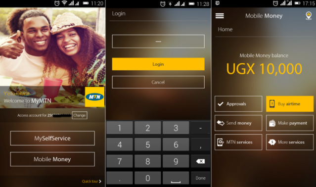 mymtn mobile app mobile money services