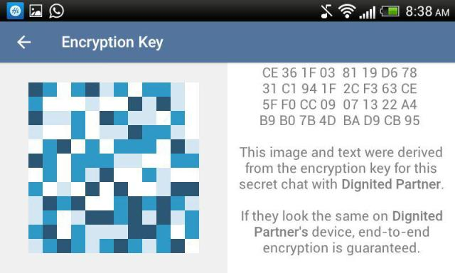 Telegram Encryption Key