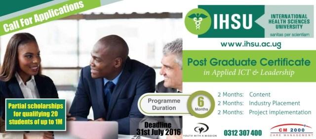 IHSU Advert