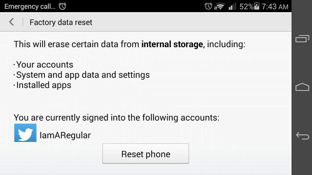 Factory Reset Protection, the inbuilt anti-theft Kill Switch that