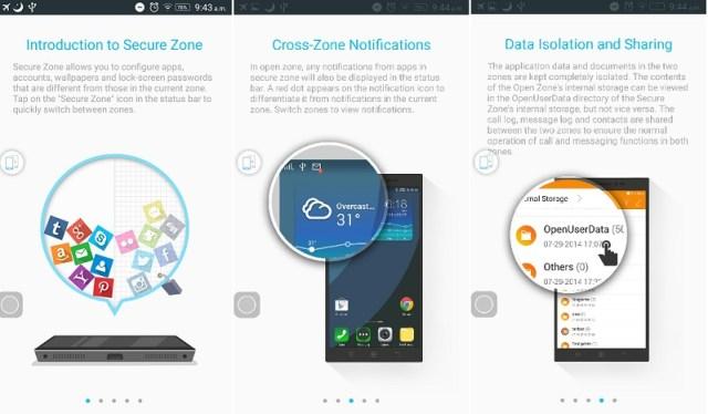Lenovo K3 Note Secure Zone