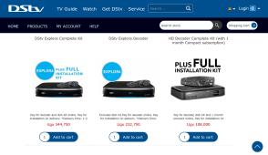 dstv online shop