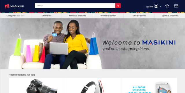 Masikini buy from USA, UK and China and ship to Uganda