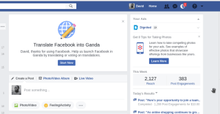 facebook luganda translation