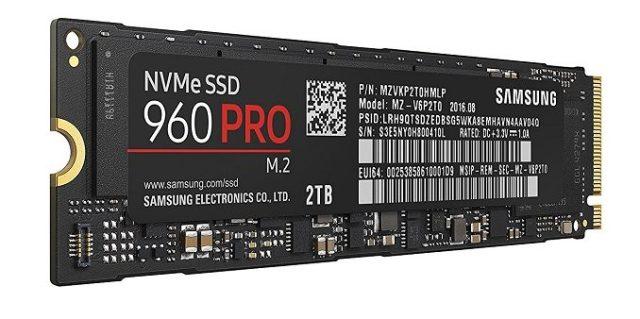 Samsung EVO 960 PRO SSD Drive