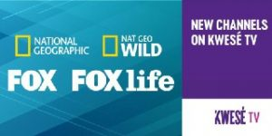 National Geographic and Nat Geo Wild are now on Kwesé TV