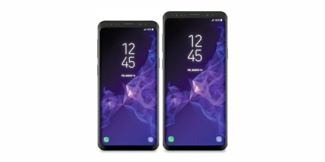 rumored S9 and S9 plus look