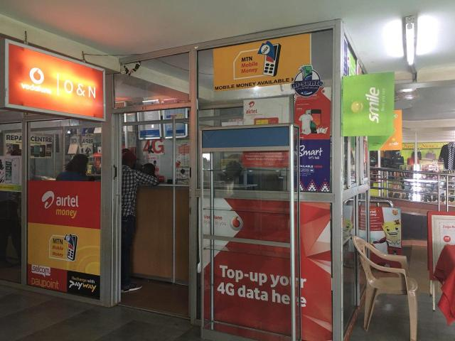 mobile money kiosk ntinda