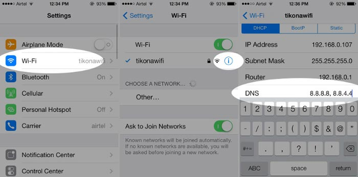 How To Change My Dns Server Android How to Change DNS