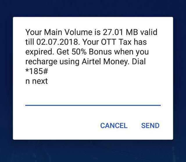 OTT tax Airtel uganda