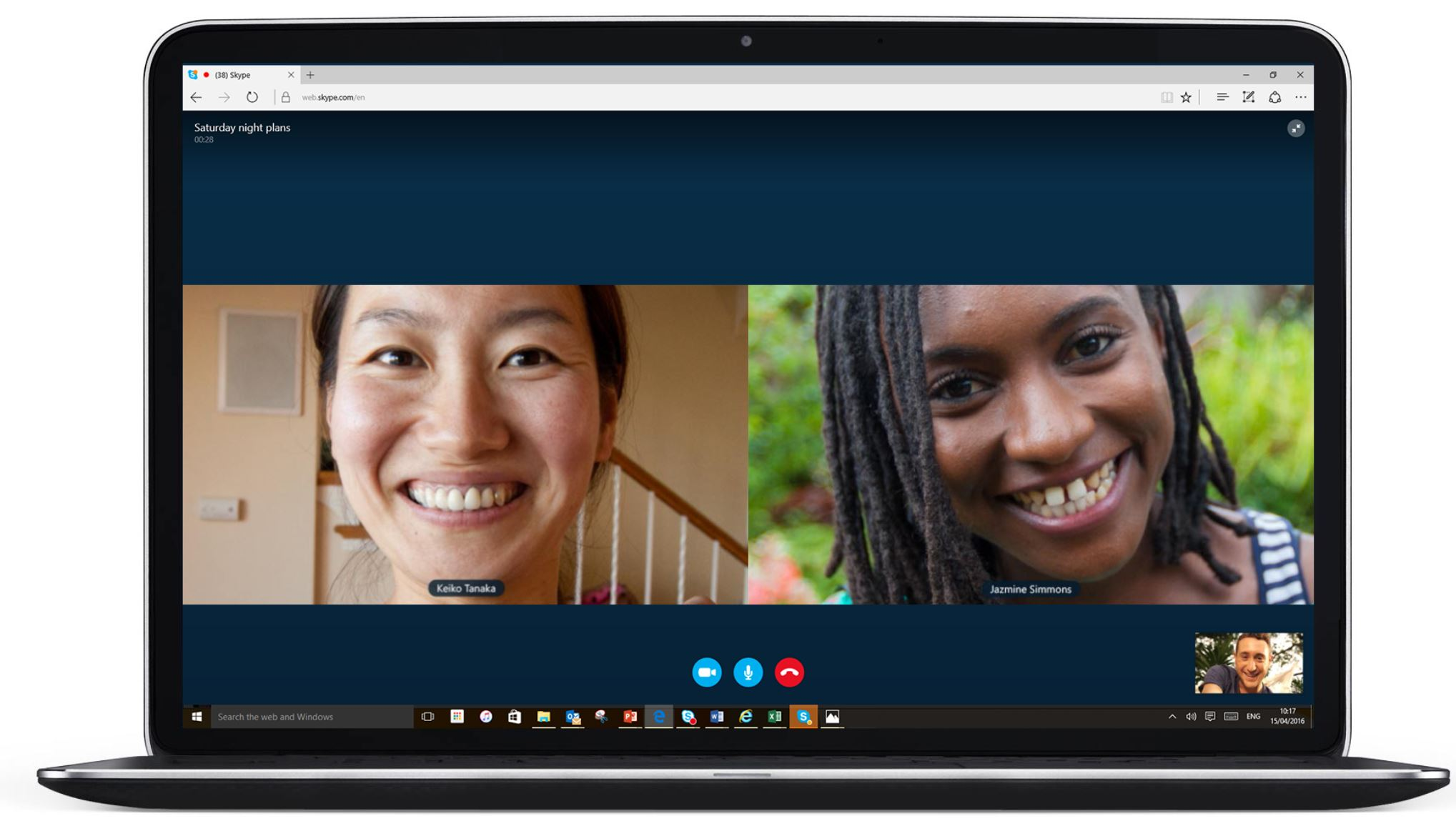 How to make whatsapp video call from laptop to mobile