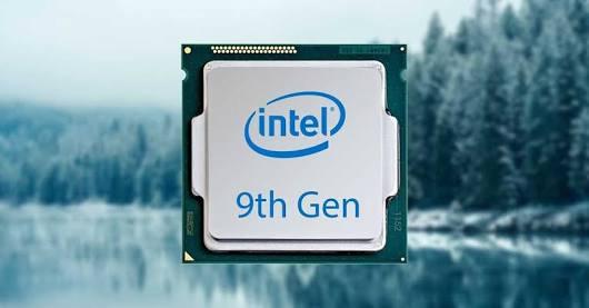 Kết quả hình ảnh cho intel core 9th generation