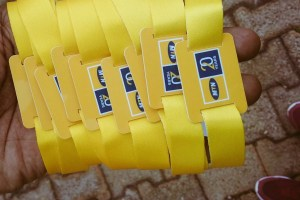 MTN introduces the tap to pay MoMoPay bracelet at the MTN Expo