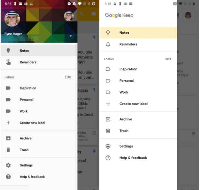 Google Keep gets the new Material Design treatment - Dignited