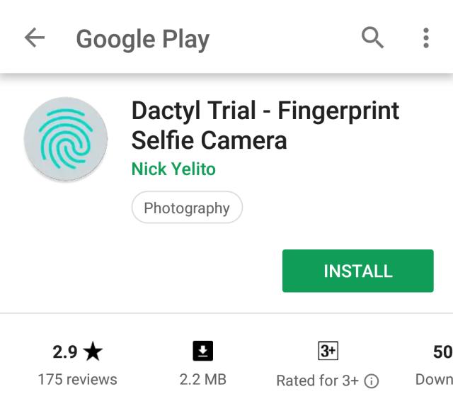 How to Take Photos Using Fingerprint sensor on Android