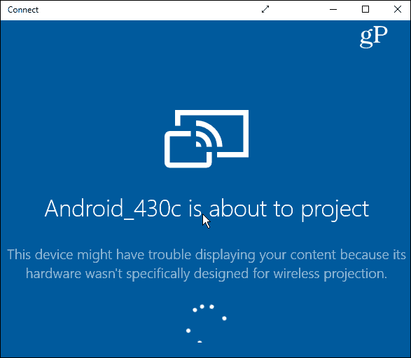How to screen mirror from Android phone to Windows 10 PC