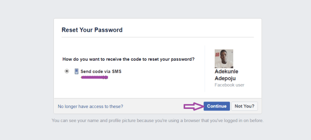 How to change or reset forgotten Facebook password - Dignited