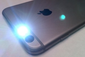 How to adjust flashlight brightness (for iOS and Android)