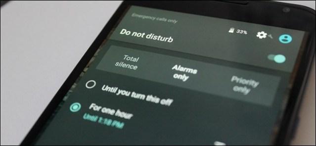 Do Not Disturb feature