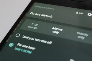 Do Not Disturb feature