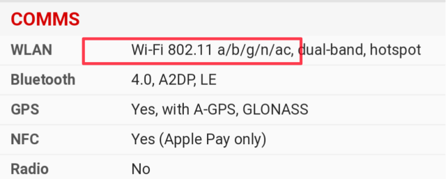 how to check WiFi version