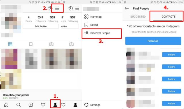 How To Find People on Instagram Using Phone Numbers