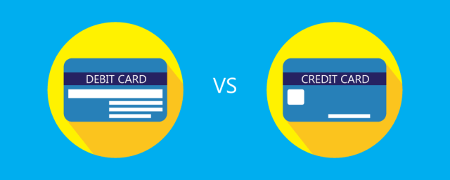 debit vs credit card