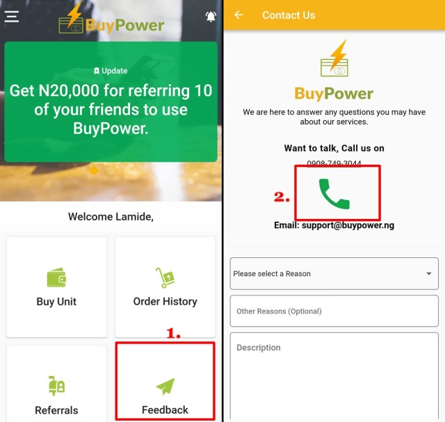 Buy Power Online in Nigeria