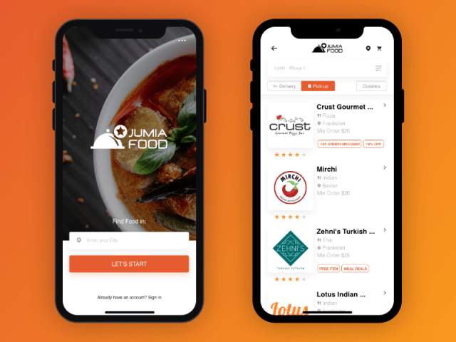 Food delivery Nigeria